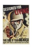 Designed for Living Poster Giclee Print by Sascha Maurer
