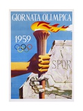 Giornata Olimpica 1959 Poster Giclée-Druck von Nino Gregori