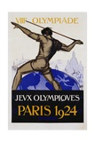 Jeux Olympiques, Paris 1924 Poster Giclee Print by  Orsi