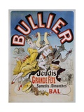Bullier Poster Giclee Print by Jules Chéret