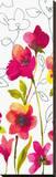 Croquis Floral I Bedruckte aufgespannte Leinwand von Sandra Jacobs