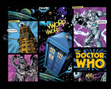 Doctor Who - Comic Layout Affiches