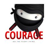 Courage Do Good Premium Giclee Print
