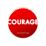Courage Do Good Poster