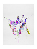 Romantic Ballet Watercolor 2 Posters by Irina March