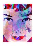 Audrey Watercolor Premium Giclee Print by Anna Malkin