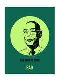 Bad Poster 4 Giclée-Premiumdruck von Anna Malkin