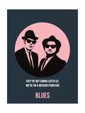 Blues Poster 1 Kunst af Anna Malkin