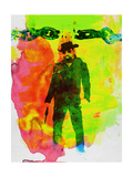 Unchained Watercolor Poster van Anna Malkin