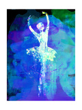 Ballerina's Dance Watercolor 4 Posters van Irina March