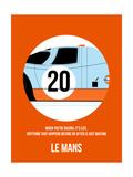 Le Mans Poster 1 Premium Giclee-trykk av Anna Malkin