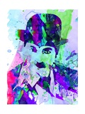 Chaplin Watercolor Premium Giclee Print by Anna Malkin
