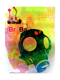 Br Ba Watercolor 3 Posters by Anna Malkin