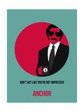 Anchor Poster 1 Schilderij van Anna Malkin
