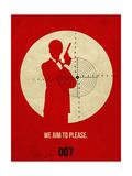 James Poster Red 2 Premium Giclee-trykk av Anna Malkin