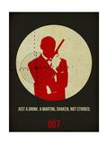James Poster Black 4 Kunst von Anna Malkin