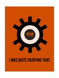 Clockwork Poster Premium Giclee-trykk av Anna Malkin