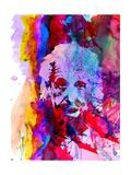 Einstein Watercolor Premium Giclee-trykk av Anna Malkin