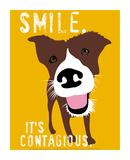 微笑み ポスター : ジンジャー・オリファント