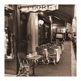 Café de Flore Affiche par Alan Blaustein