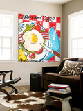 Ham and Eggs Posters av El Van Leersum