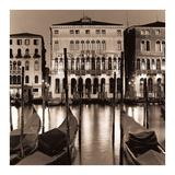 Il Gran Canale di Notte Prints by Alan Blaustein