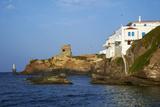 Hora, Andros Island, Cyclades, Greek Islands, Greece, Europe Fotografisk tryk af  Tuul