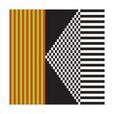 Variazione N°23, 2012 Serigraph by Ernesto Riga