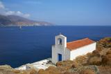 Chapel, Hora, Andros Island, Cyclades, Greek Islands, Greece, Europe Fotografisk tryk af  Tuul