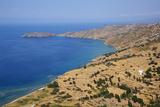 Batsi Bay, Andros Island, Cyclades, Greek Islands, Greece, Europe Fotografisk tryk af  Tuul
