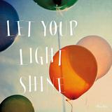 Happiness - Let Your Light Shine Kunstdruck von Alicia Bock
