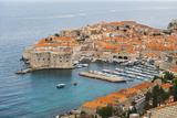 Elevated View of Dubrovnik Old Town Fotografisk trykk av Matthew Williams-Ellis