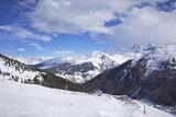 View of Crozats, La Plagne, Savoie, French Alps, France, Europe Reproduction photographique par Peter Barritt