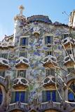 Casa Batllo, UNESCO World Heritage Site, Barcelona, Catalonia, Spain, Europe Photographic Print by Mark Mawson