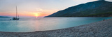 Brac Island, Zlatni Rat Beach at Sunset, Bol, Dalmatian Coast, Adriatic, Croatia, Europe Reproduction photographique par Matthew Williams-Ellis