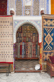 Carpet Shop in Marrakech Souks, Morocco, North Africa, Africa Reproduction photographique Premium par Matthew Williams-Ellis