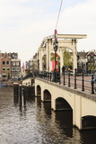 Magere Brug (The Skinny Bridge), Amsterdam, Netherlands, Europe Photographic Print by Amanda Hall