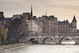 Pont Neuf and the Ile De La Cite in Paris, France, Europe Photographic Print by Julian Elliott