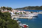 Harbour, Skiathos Town, Skiathos Island, Sporades Islands, Greek Islands, Greece, Europe Reproduction photographique par Stuart Black