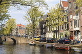 Leliegracht, Amsterdam, Netherlands, Europe Photographic Print by Amanda Hall