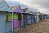Beach Huts at Herne Bay, Kent, England, United Kingdom, Europe Photographic Print by Charlie Harding