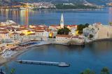 Old Town (Stari Grad), Budva, Montenegro, Europe Photographic Print by Alan Copson