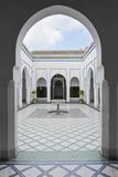 Courtyard at El Bahia Palace, Marrakech, Morocco, North Africa, Africa Reproduction photographique par Matthew Williams-Ellis