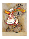 Paris Bistro I Giclee Print by Jennifer Garant