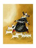 Dollnation Giclée-tryk af Jennifer Garant