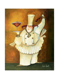 Cosmo Girl Giclee Print by Jennifer Garant