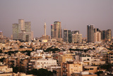 View over the Skyline of Tel Aviv, Israel, Middle East Photographic Print by Yadid Levy