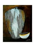 African Vessel I Giclee Print by Jennifer Garant