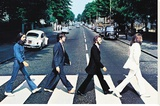 The Beatles - Abbey Road Stretched Canvas Print
