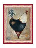 Coq français I Reproduction procédé giclée par Jennifer Garant